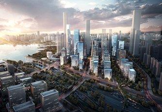 圖片:前海未來發展(圖片由深圳市前海深港現代服務業合作區提供)