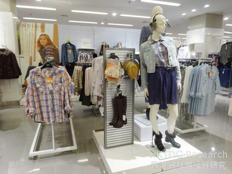 Photo: Young fashion styles introduced by Marks & Spencer