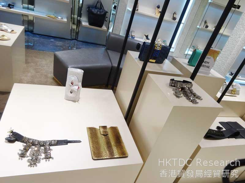 Photo: Foreign brands offer shimmering designs to cater to local preferences