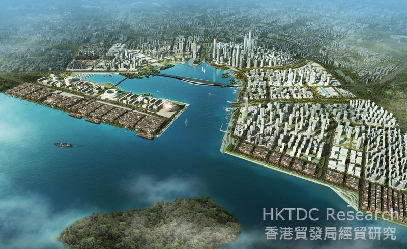 Picture: Future development of Qianhai