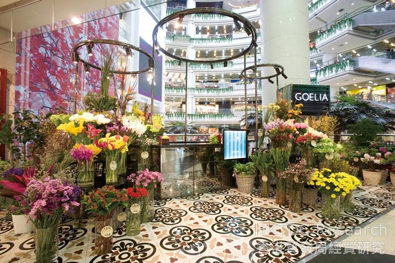 相片:广州正佳广场GOELIA fleuriste