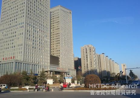Photo: The new eastern district of Xinxiang