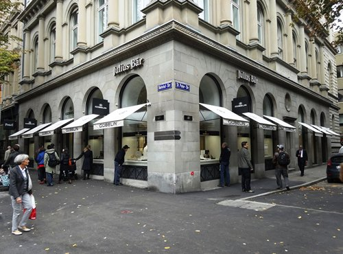 Photo: Julius Baer Group is one of Switzerland leading private bankers