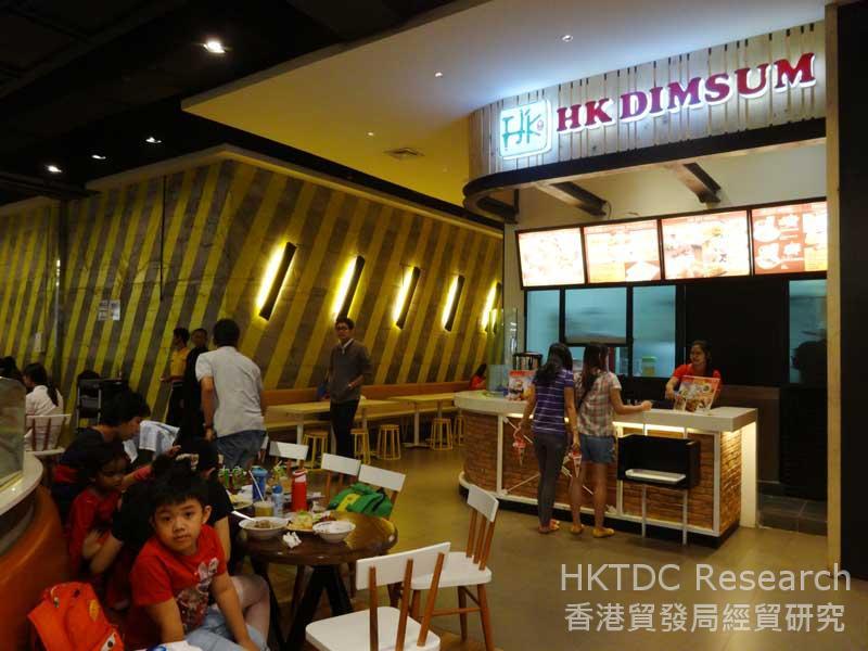 圖: 點心是其中一種深受歡迎的中式美食。