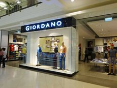 Photo: Hong Kong apparel brands in Dubai – Giordano