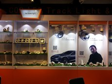 Photo: LED products shown at the Fair (1)