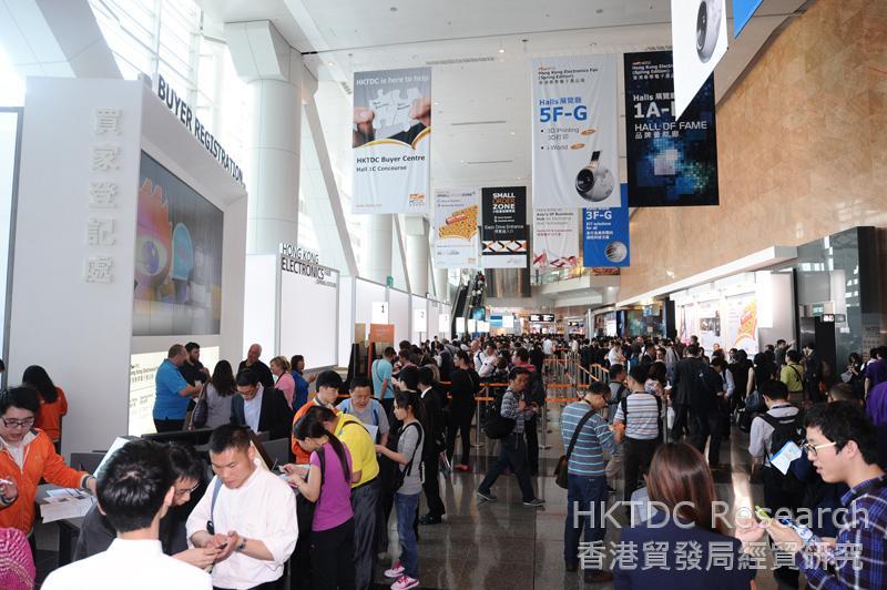 Photo: Hong Kong Electronics Fair 2014, Spring Edition (2)