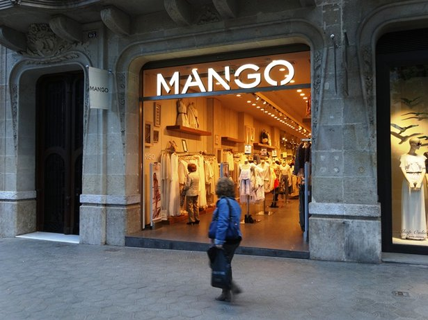Photo:MANGO is an famous multinational brand