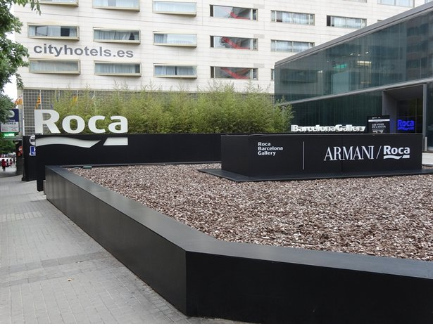 Photo: Roca is today a worldwide force in developing bathroom solutions