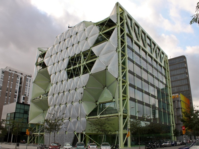 Photo: Barcelona Mobile Soft Landing is located in the Media-TIC Building in the 22@ district
