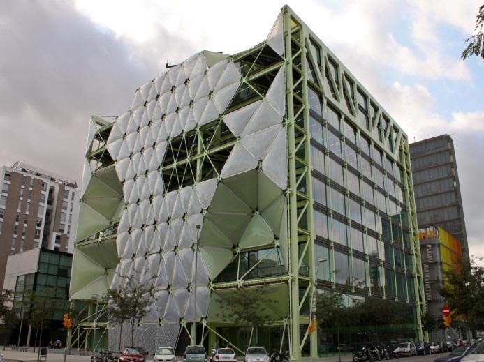 相片:「巴塞羅那流動通訊軟著陸」位於22@區的Media-TIC Building大樓