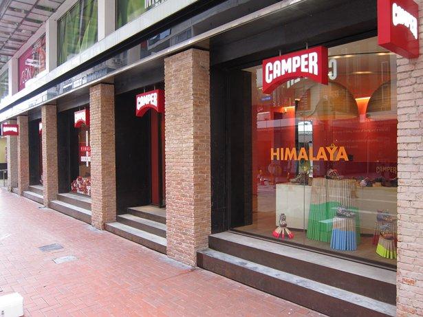 Photo: A Camper store in Causeway Bay, Hong Kong