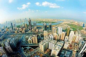 Photo: A bird's-eye view of Sharjah