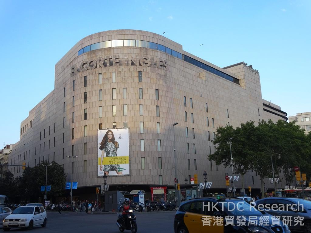 Department store offers unrivalled access to spanish - El corte ingles aparadores ...