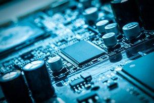 相片:中国已成为世界电子工厂(一)