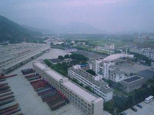 相片:福銀高速公路旁的高速物流園