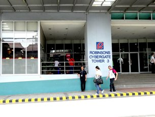 Photo: A BPO centre built by Robinsons, one of the Philippines' largest developers
