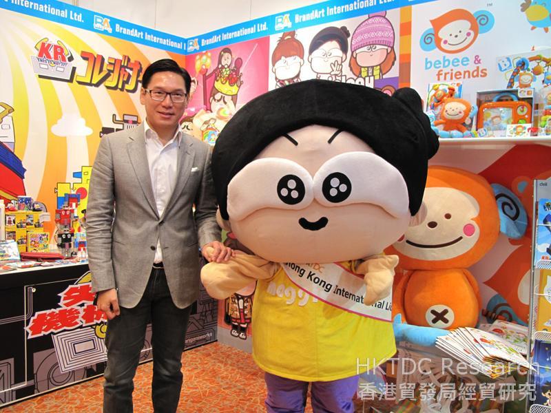 相片:杨志达总裁与「马仔」