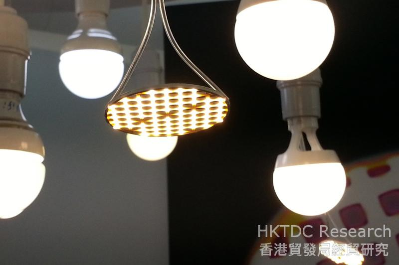 Photo: LED products offered at the Fair