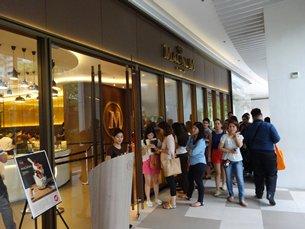 圖: Magnum其門若市,反映高檔食品越來越受菲律賓人歡迎。