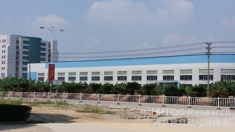 相片:江門高新工業區
