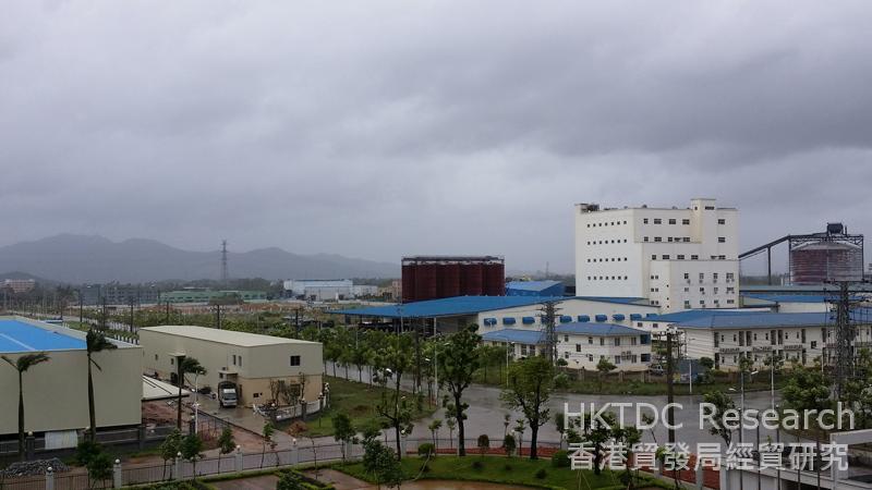 相片:陽江銀鈴科技產業園