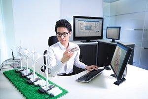 相片:「應科院」提供技術及管理系統解決方案(相片由香港應用科技研究院提供)