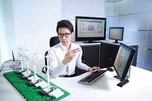 Photo: ASTRI offers technology and management system solutions. (Image courtesy of ASTRI)
