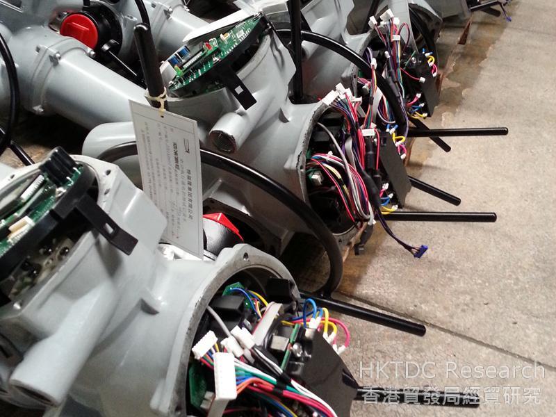 Photo: Smart electro-mechanical actuators from Tefulong (2)