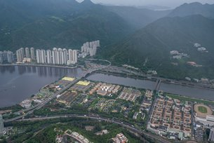 Photo: AECOM provides integrated services for infrastructural development in Hong Kong (1)