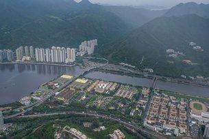 相片:AECOM為香港的基建發展提供綜合服務 - 沙田污水處理廠搬遷至岩洞工程(相片由AECOM提供)