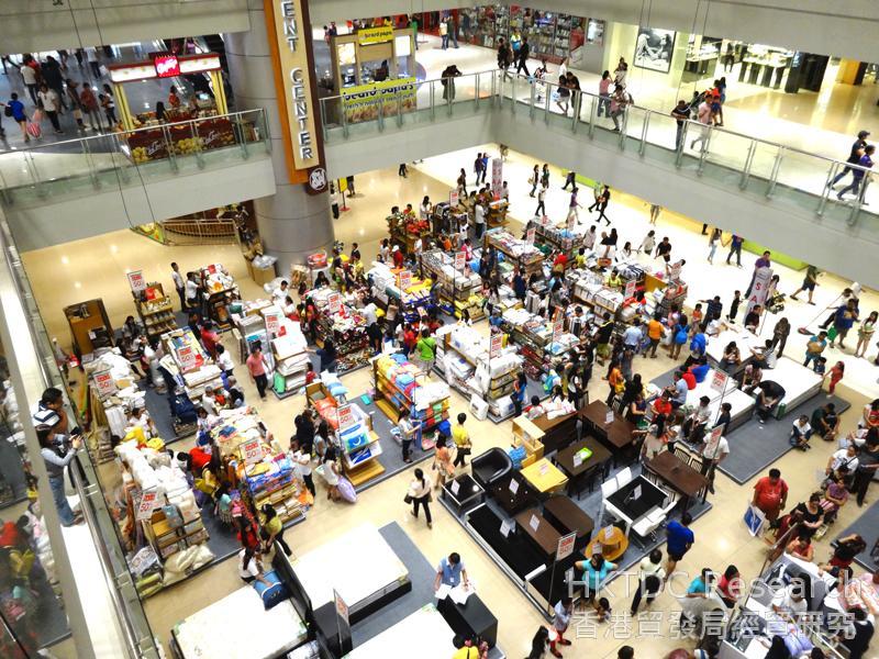 圖: 收入不斷增加刺激消費品需求轉強。