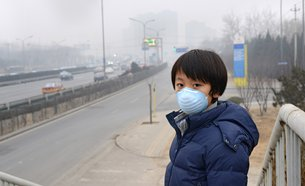 Photo: Containing air pollution: A YRD priority.