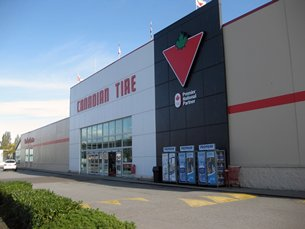 Photo: The five most valuable retail brands in Canada in 2013.