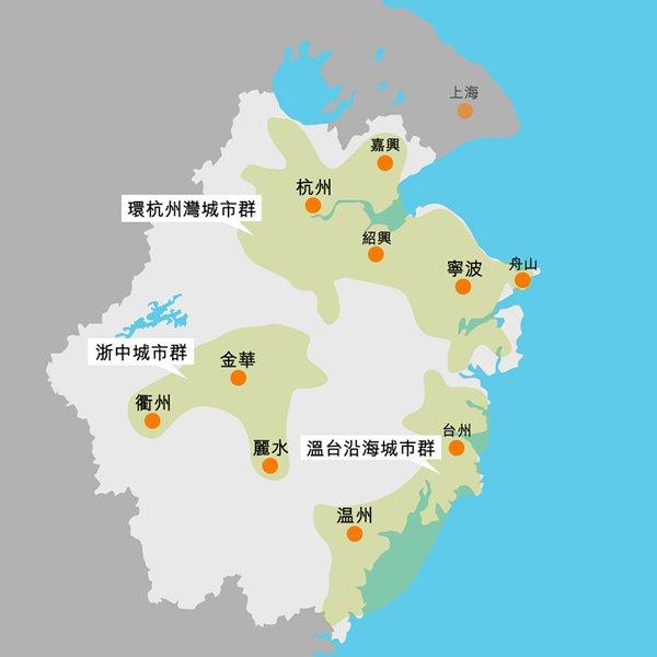 浙江省城市群形成机理与空间结构演变分析