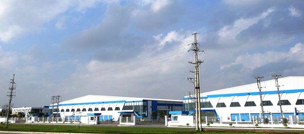 图: 海防工业园区的基建设施管理完善。