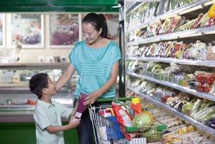 相片:长三角居民花费在优质食品支出日增(二)