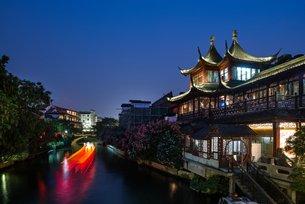 相片:夫子廟是南京主要購物熱點之一(二)