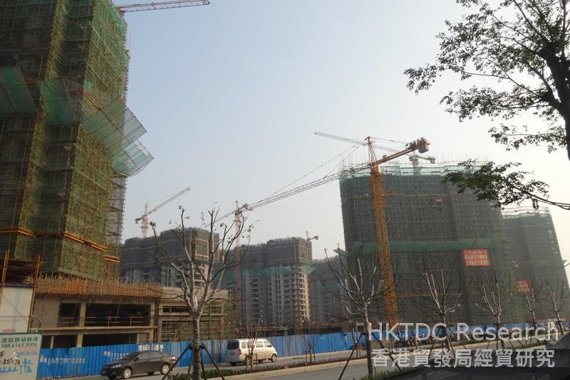 相片:江陰市積極構建成為現代化花園城市