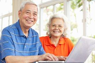 相片:中国人口朝老龄化发展