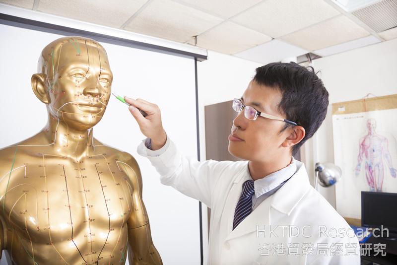 相片:香港投资者现在可在江苏等试点设立中医类医院