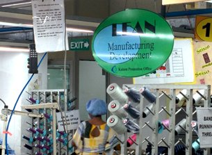 Photo: High efficiency: A recognised strength of Sri Lanka's apparel industry.