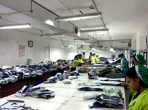 Photo: Sri Lankan garment factories: Putting emphasis on quality assurance.