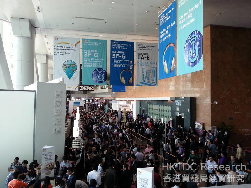 Photo: Hong Kong Electronics Fair 2015, Spring Edition (2)