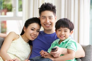 Photo: The smart family: IoT friendly.