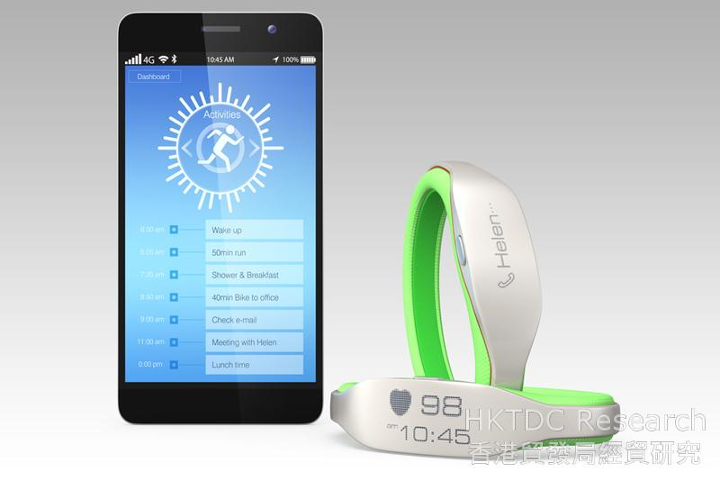 Photo: Wearable electronics: Increasingly seen as must-have products.