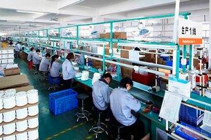 相片:小熊電器生產線
