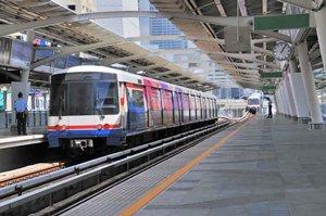 Photo: Bangkok Mass Transit System (BTS Skytrain)