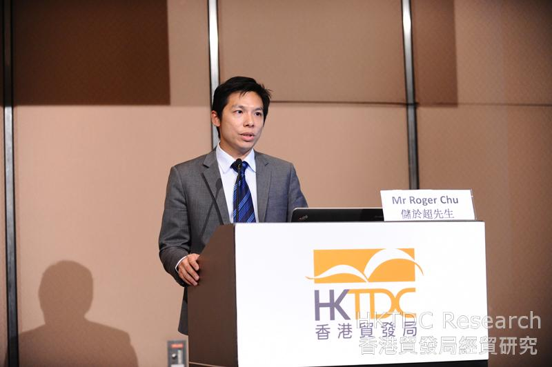 Photo: Roger Chu: The global LED market will continue to grow.