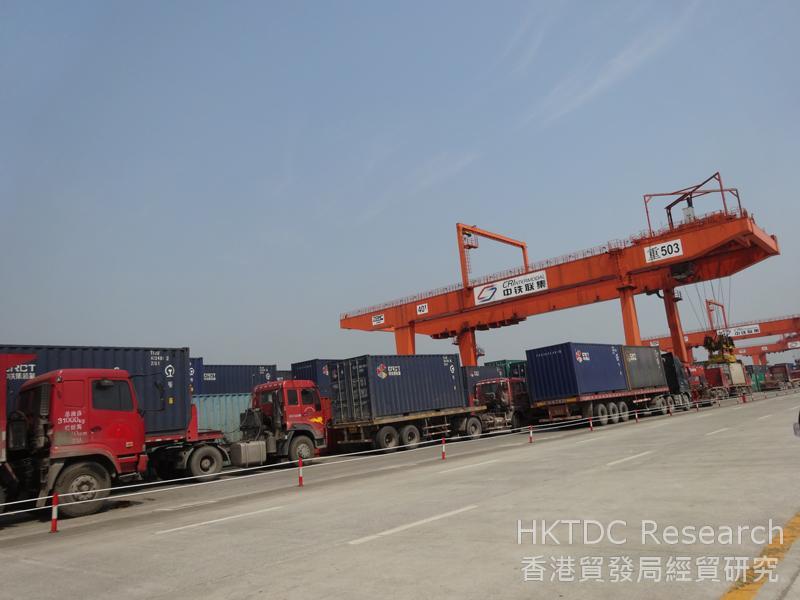 相片:渝新歐國際鐵路:沙平壩區中鐵聯集重慶中心站